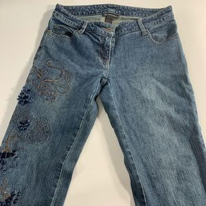 INC International Concepts | Embroidered Denim